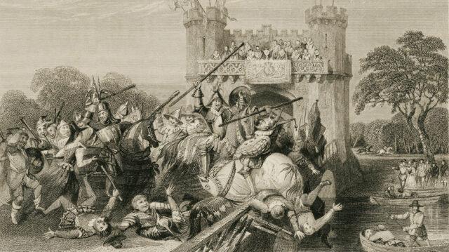 The Mock Battle