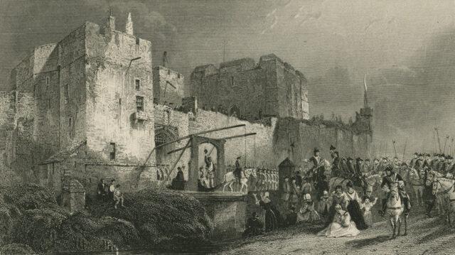 Carlisle Castle: Execution of Fergus Mac-Ivor and Evan Dhu