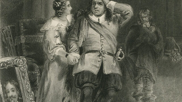 Cromwell and Lady Fauconberg
