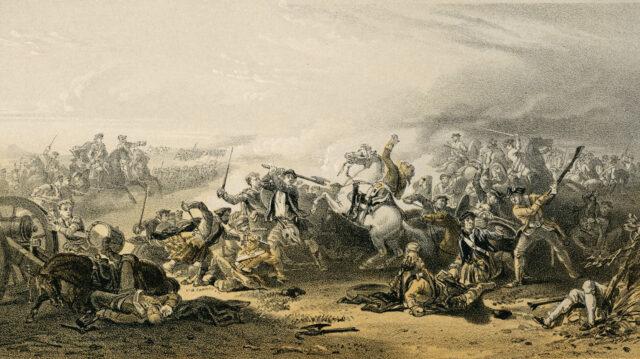 The Field of Prestonpans (Death of Colonel Gardiner)