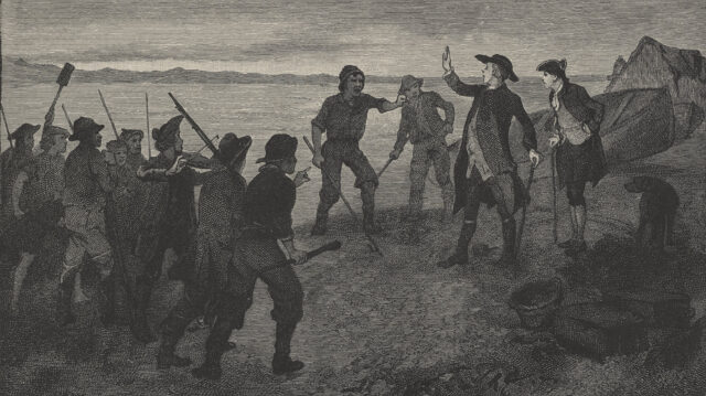 The Attack on the Fishing Station
